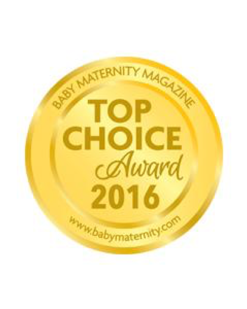 2016 Baby Maternity Magazine Top Choice Award -