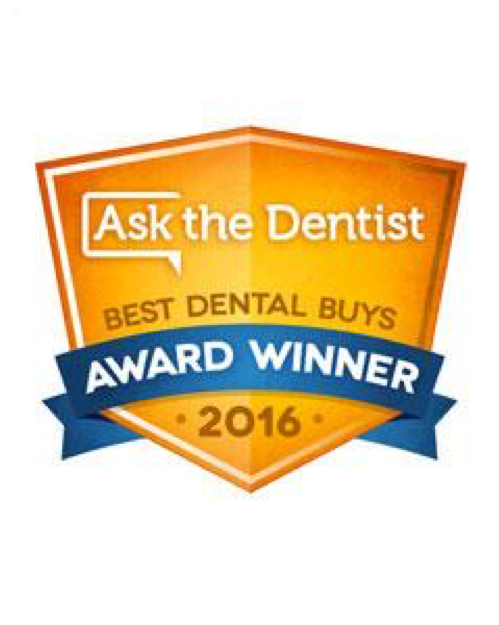 2016 Ask The Dentist Best Dental Buys Award -