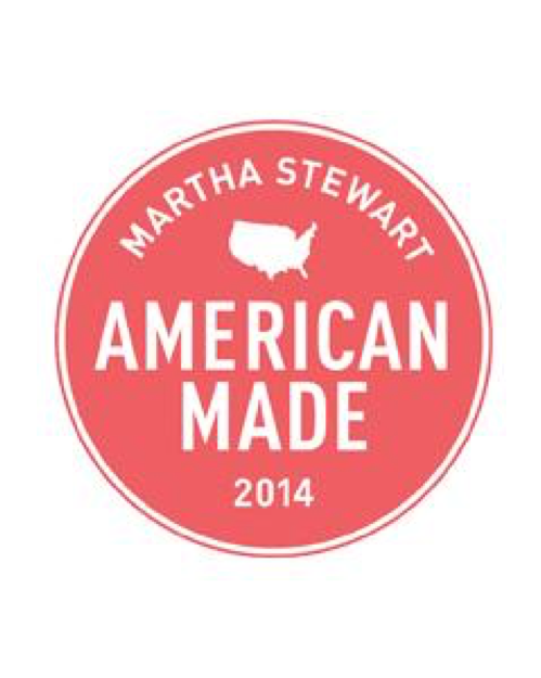 2014 Martha Stewart American Made Awards Style/Beauty Finalist -