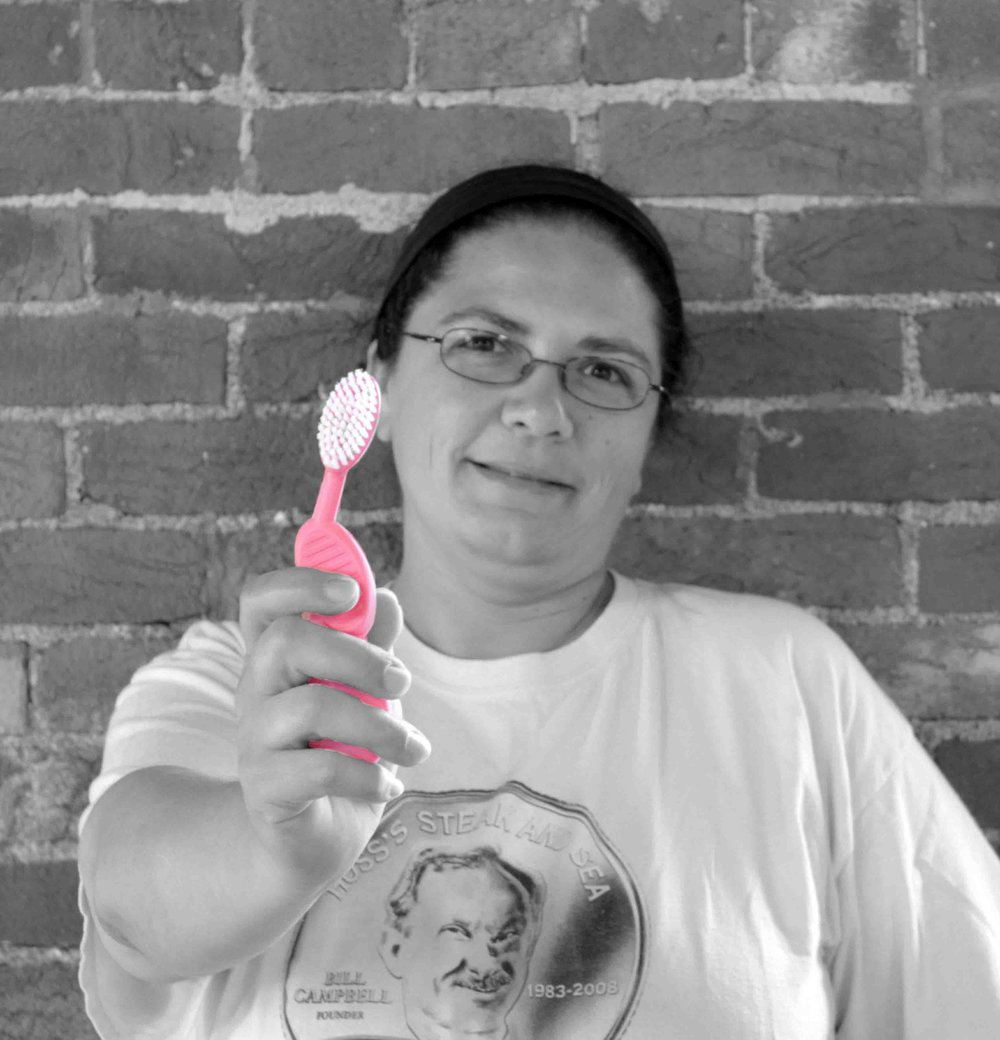Jennifer Michener   Inventory & Shipping Coordinator     Favourite RADIUS Product & Why?   It used to be the SCUBA® (in pink, of course), but now I'm thinking the Tour might be my new favourite. I mean, who wouldn't love a folding Source™with a removable head!?   Favourite fact about RADIUS?   That we run on solar power and recycle as much as possible.   Best Thing About Working for RADIUS?   I absolutely love the people I work with, the work environment, the entire experience of being a RADIUS employee!