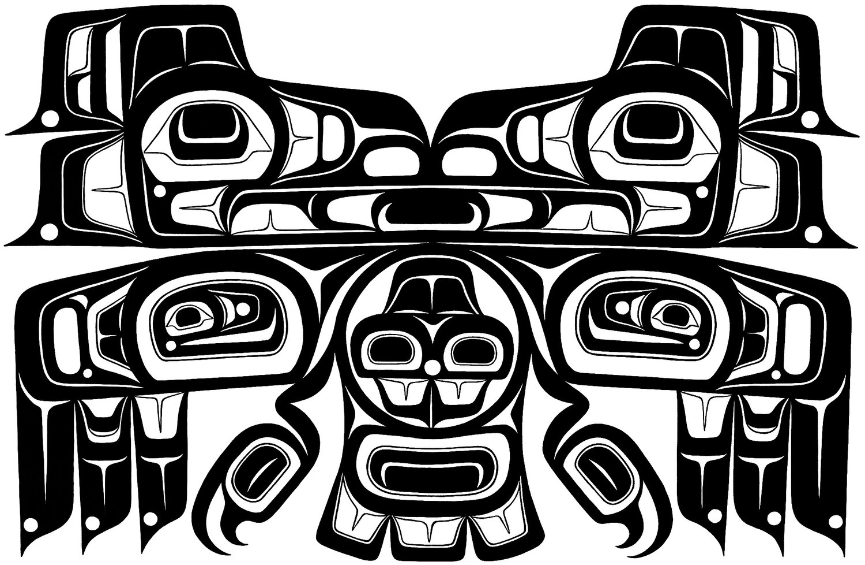 James Johnson Love Birds Art T-Shirt Indigenous Native Wearable Art