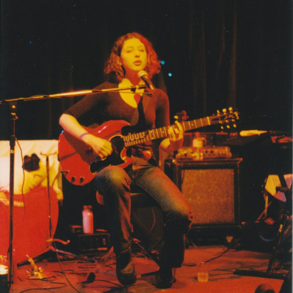 From a solo show at Live Arts in Charlottesville VA in 1998