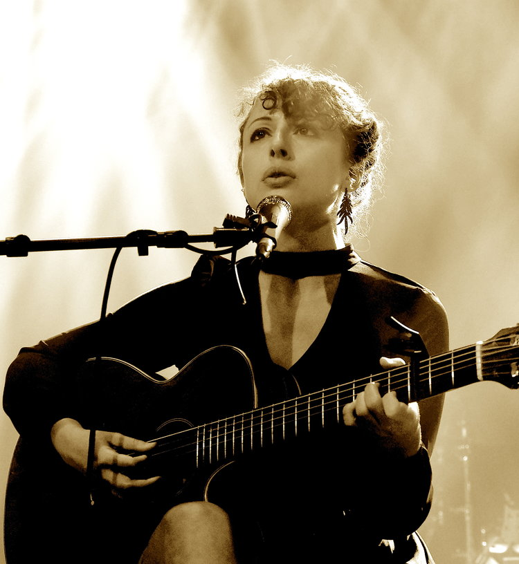 Lauren acoustic at the Jefferson Theater.JPG
