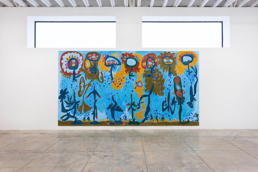 Installation View: Color Out of Space - Nasim Hantehzadeh,  Bani Adam