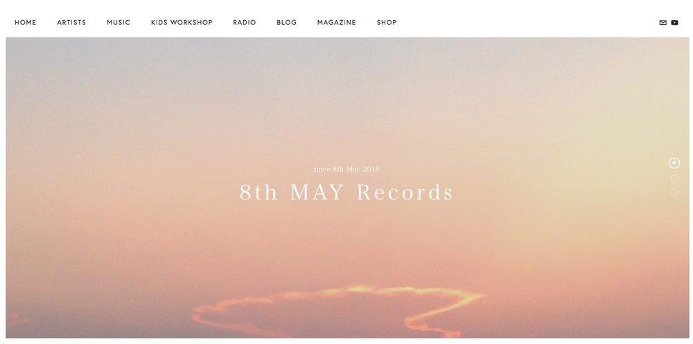 IRIS SUN WEB MOVED! - IRIS SUNの作品や最新情報は8th MAY Recordsの新しいサイトでご覧ください!