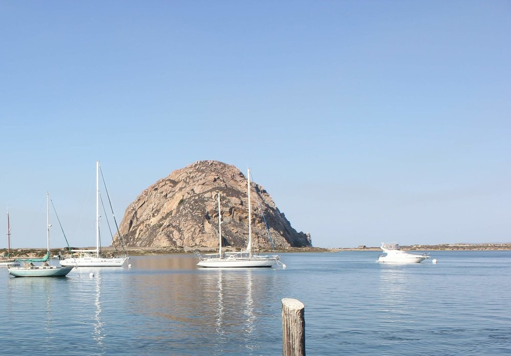 Located right on the water in Morro Bay. -