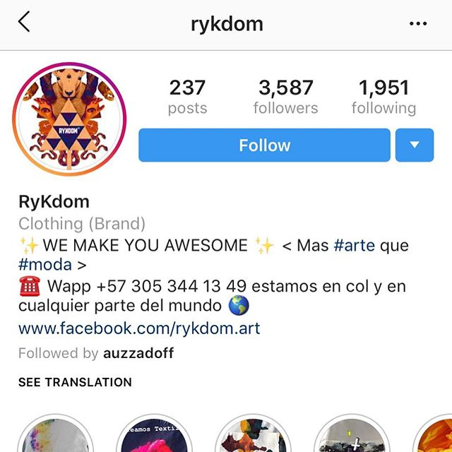 This is one hell of a brand. @rykdom is a independent coloring brand out of Medellin, Colombia. This brand is owned by my brother @auzzadoff along with his girlfriend @carolinatigerfish. Everything is designed, hand tailored, sewn, dyed, etc. homemade in they're home. #rykdom is impressively growing daily & is well on its way to becoming an established clothing company.  Y'all need to check it out ASAP.