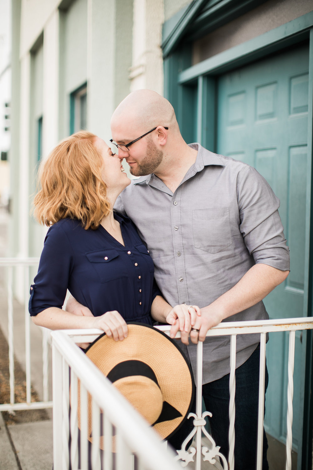 engagement photos of a couple done by brooks mcfadden photography