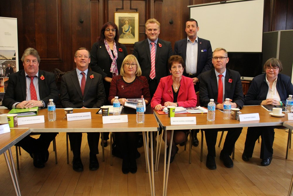 Cabinet unveiled a new vision for the area's future and promised to deliver benefits quickly for local people