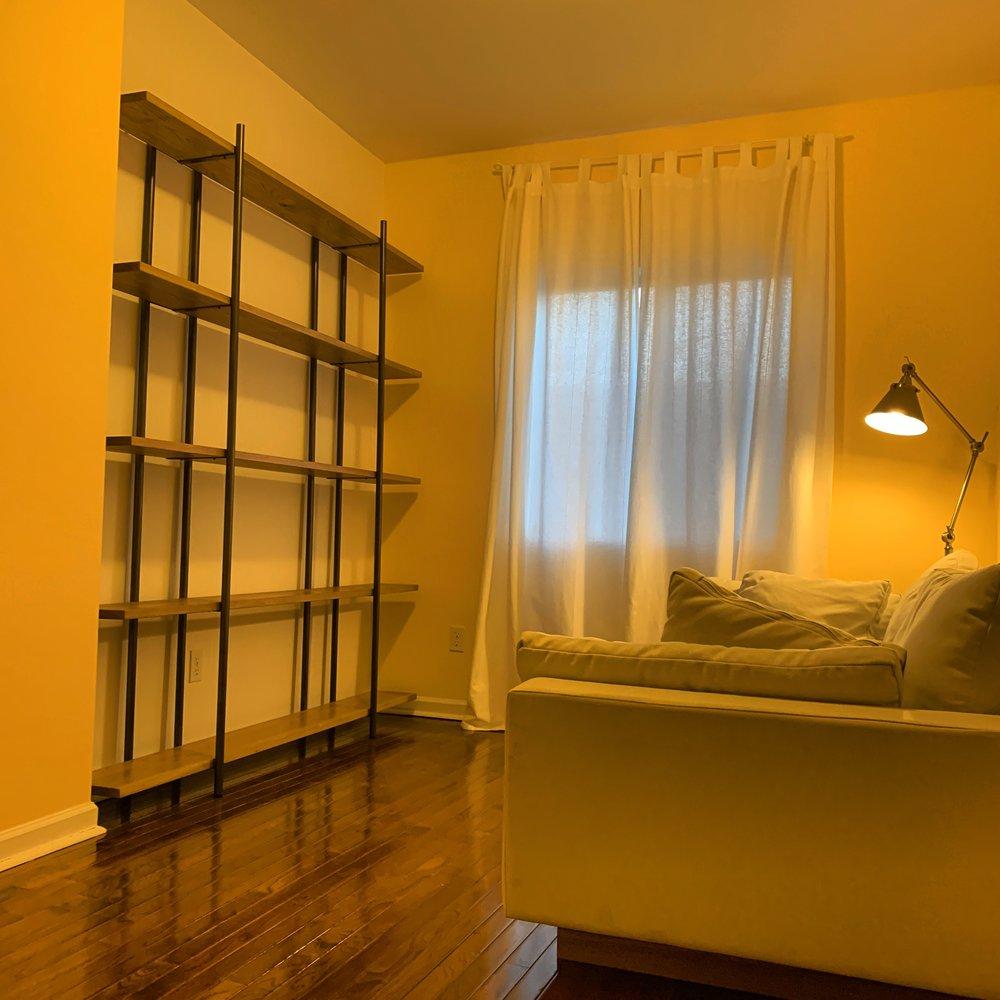 nestled shelf