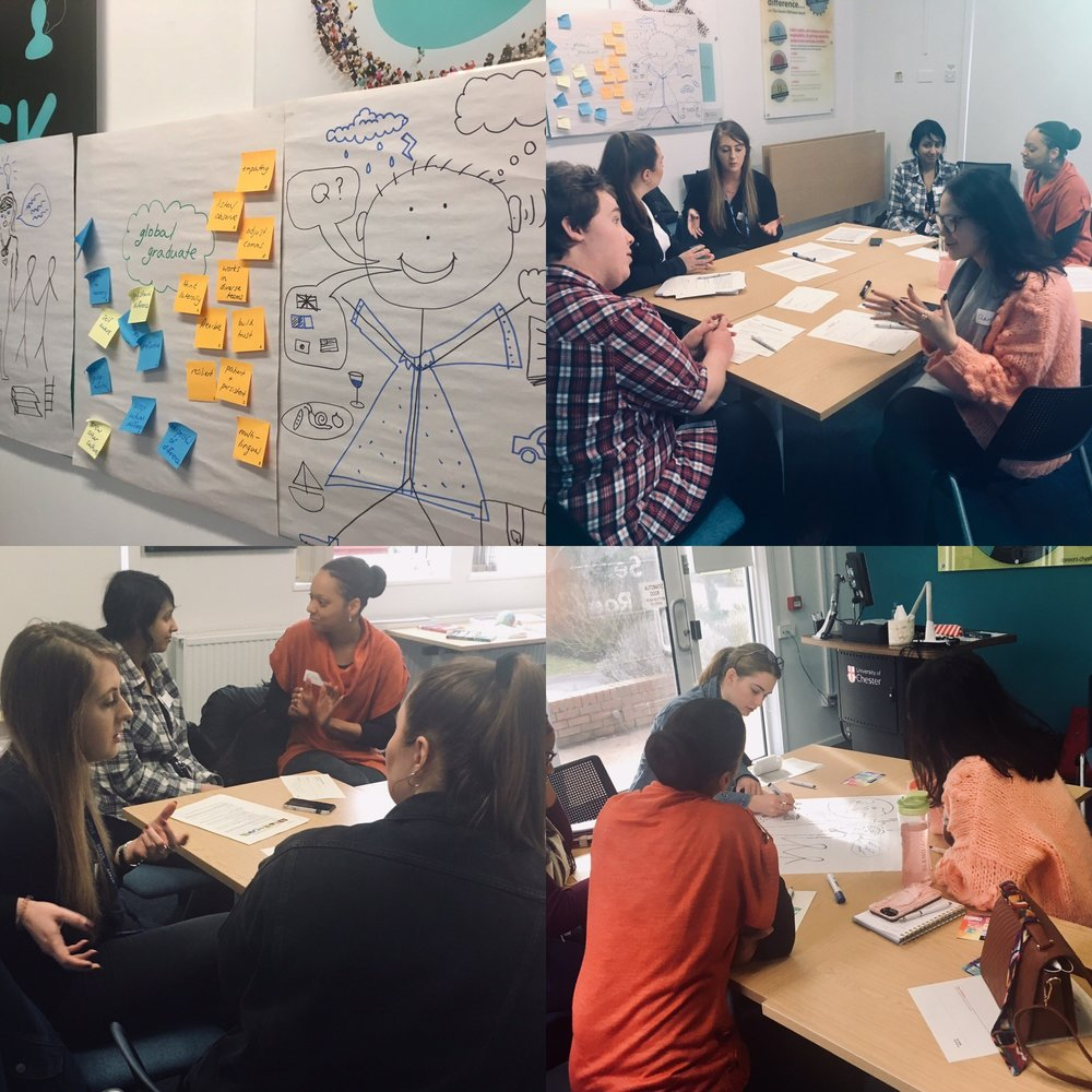 """Student feedback - """"Amazing. Loved the interactive element.""""""""Really well though out and engaging""""""""Great group work""""""""To be able to have the opportunity to communicate with each other, to make those connections and make the first steps was really helpful"""""""
