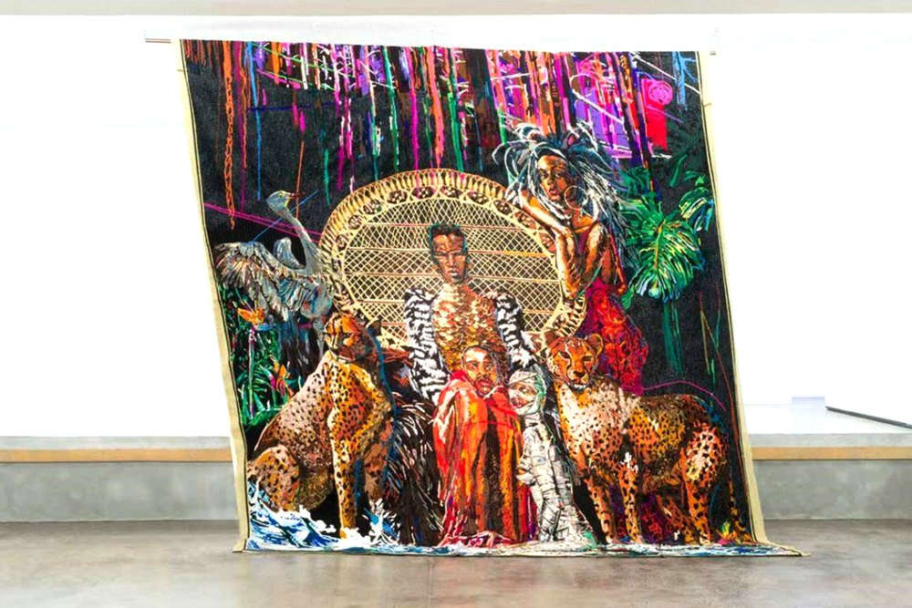 Athi-Patra Ruga, Lizalis Indinga Lakho/Autistik Imperium , 2014-2017 | Installation view:  WHATIFTHEWORLD , Cape Town
