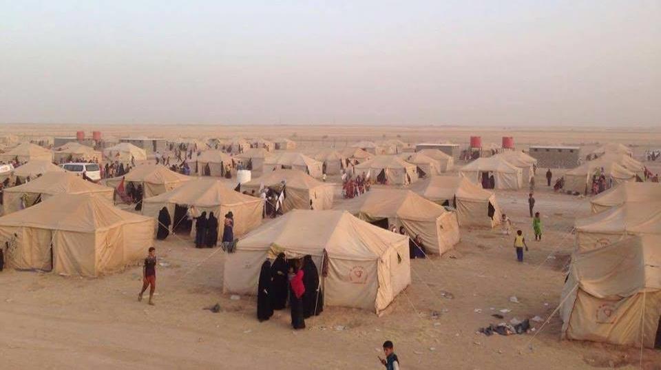 IDP camps in Iraqمخيمات النازحين في العراق
