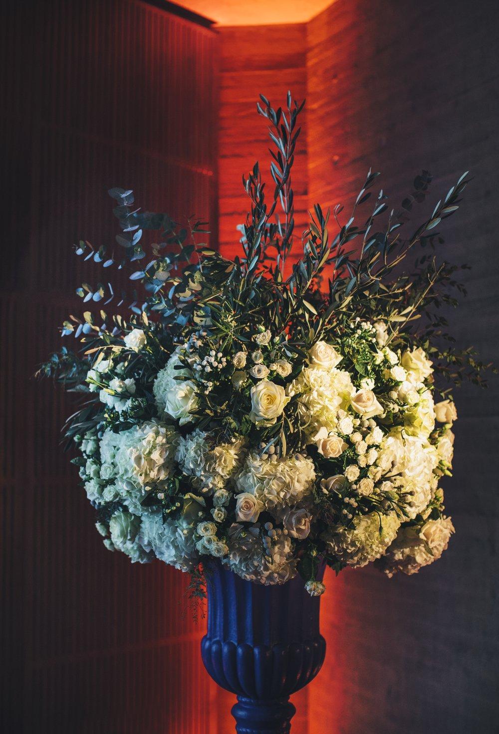 Elizabeth Room Floral Display