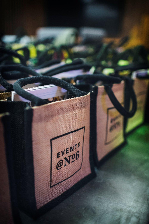 Events @ No 6 Goodie Bag