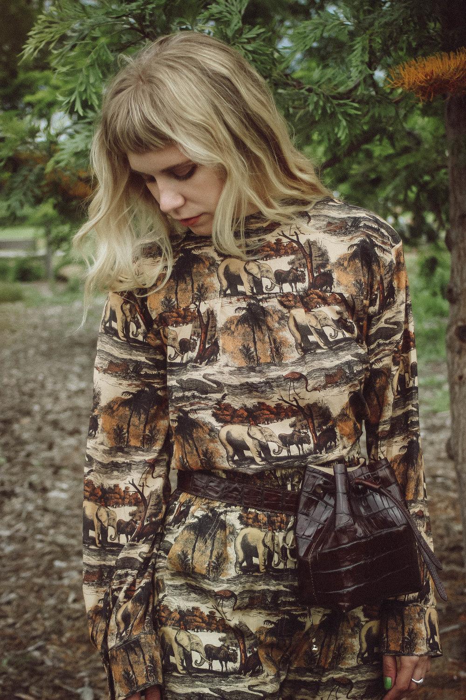 Stine blouse  | €220  Harlem pants  | €195