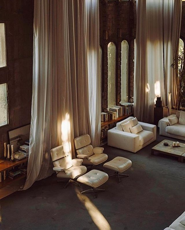 Saturday night lights in La Fábrica, by Ricardo Bofill ✨ #nanushka