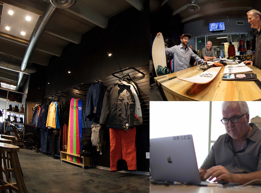 20% OFFICE 100% SHOWROOM. - BATTERY 621 IS AN INTERSECTION FOR THE OUTDOOR AND THEIR PLAYGROUND