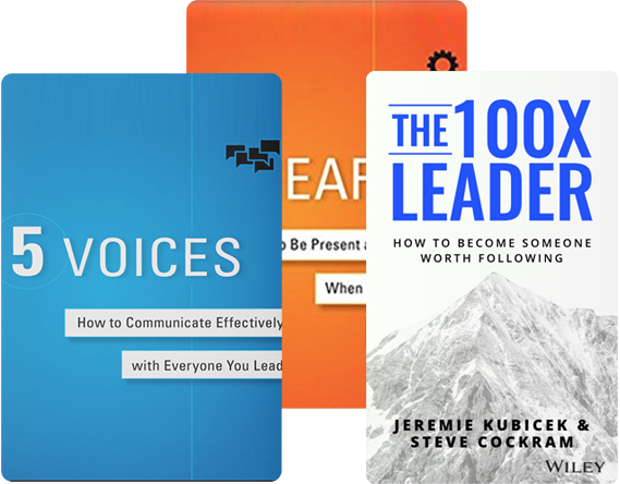 5 Voices, 5 Gears, and The 100X Leader, by Jeremie Kubicek and Steve Cockram