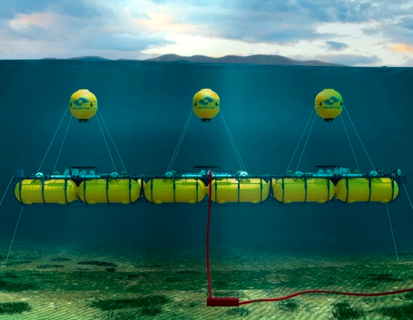 'Making Wave Power Work' campaign for Marine Power Systems (MPS) and their WaveSub (above), 2017.