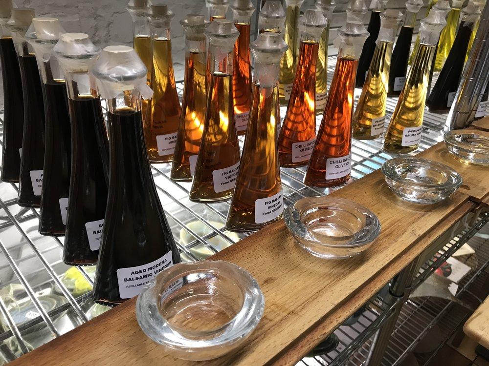 Oils and Vinegar