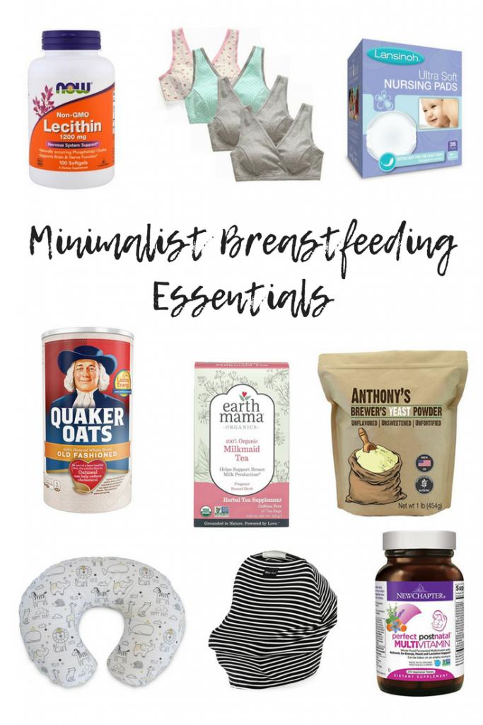 Minimalist Breastfeeding Essentials