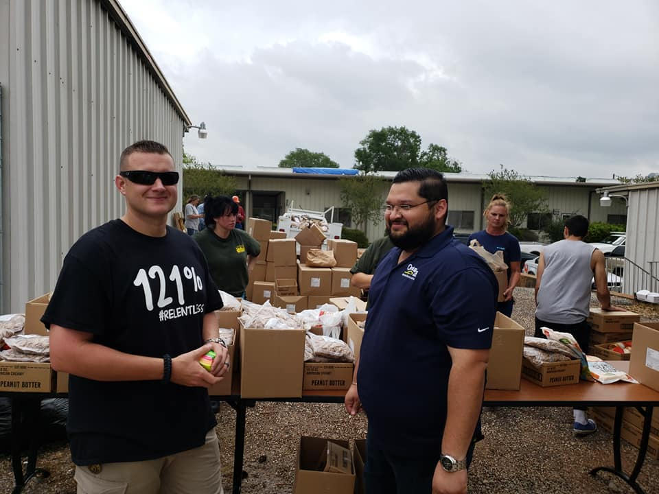 Serving a Houston Food Bank x Walker County Long Term Recovery effort.