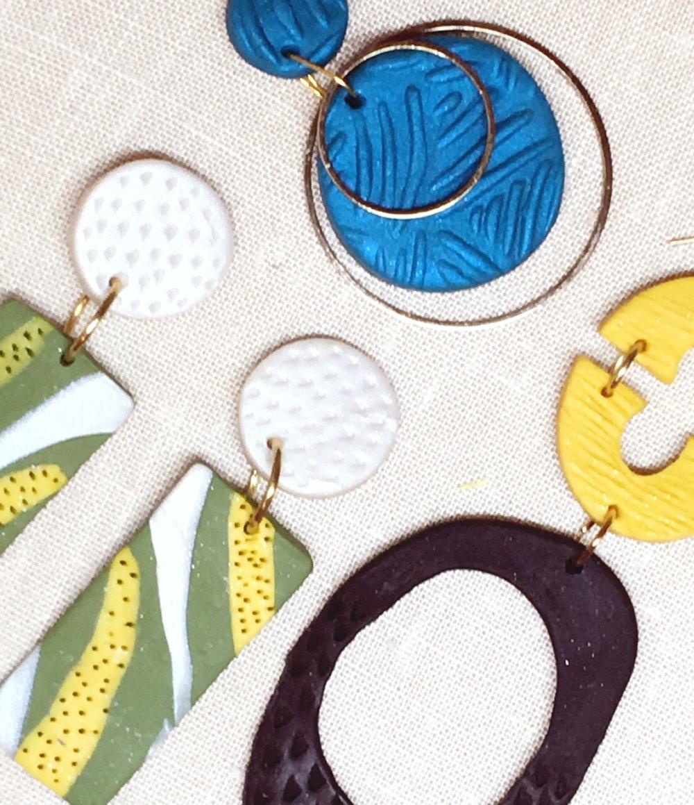 Norma Antoinette-Polymer Clay Earrings.jpg