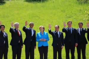 World Leaders at the 2015 G7Summit, Wikicommons