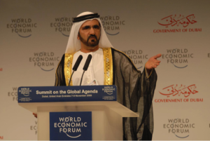 Mohammed bin Rashid al Maktoum, Emir of Dubai and Sponsor of the UAE Space Agency
