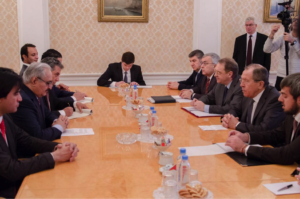 General Haftar meets with Lavrov, the Russian Foreign Minister