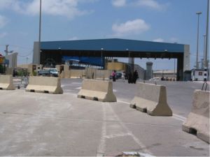 Erez crossing, one of the paths for Gazans to leave the Gaza Strip in cases of dire medical emergencies