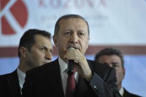 Turkey's President Recep Tayyip Erdogan speaks in Somalia in 2015 (Wikimedia Commons)