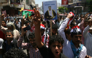 The Nation: Yeminis rally in support of Houthi rebels.