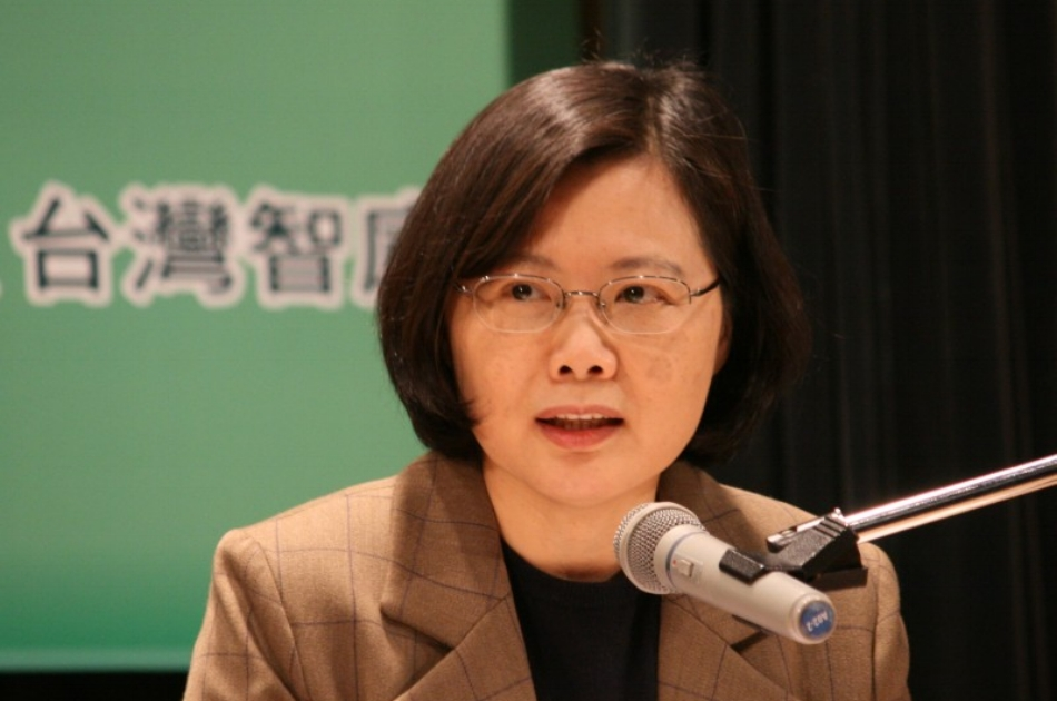 President Tsai Ing-wen (above) resigned as chair of the Democratic Progressive Party (DPP) following the elections
