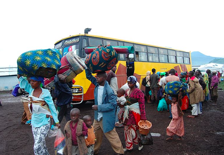 Uganda is home to one million refugees from the Great Lakes region and South Sudan, among other key migrant-sending countries. Wikimedia Commons.