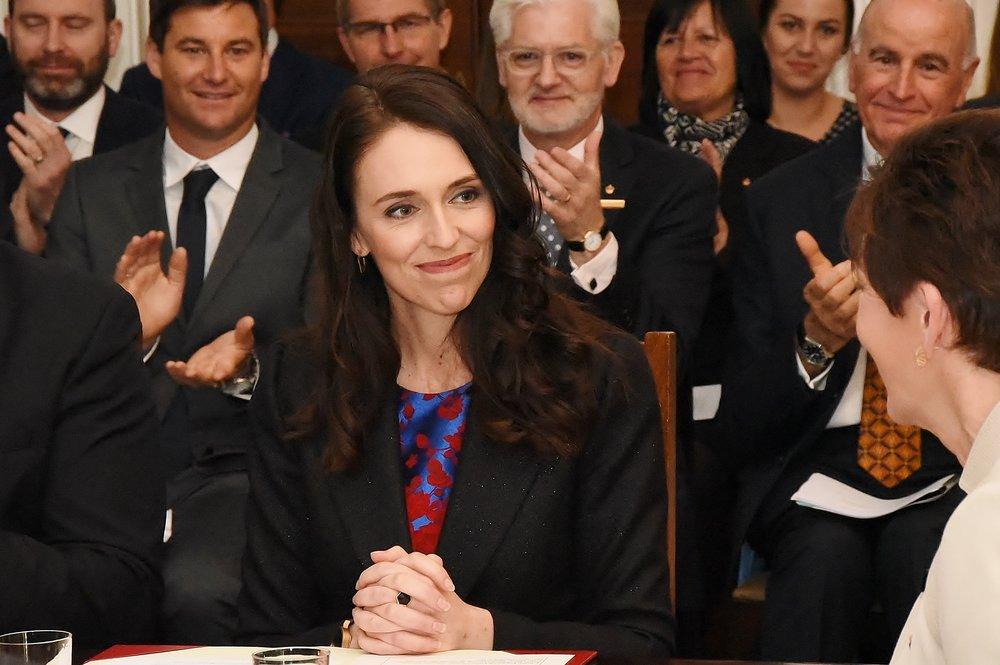 Jacinda Ardern, Prime Minister of New Zealand.