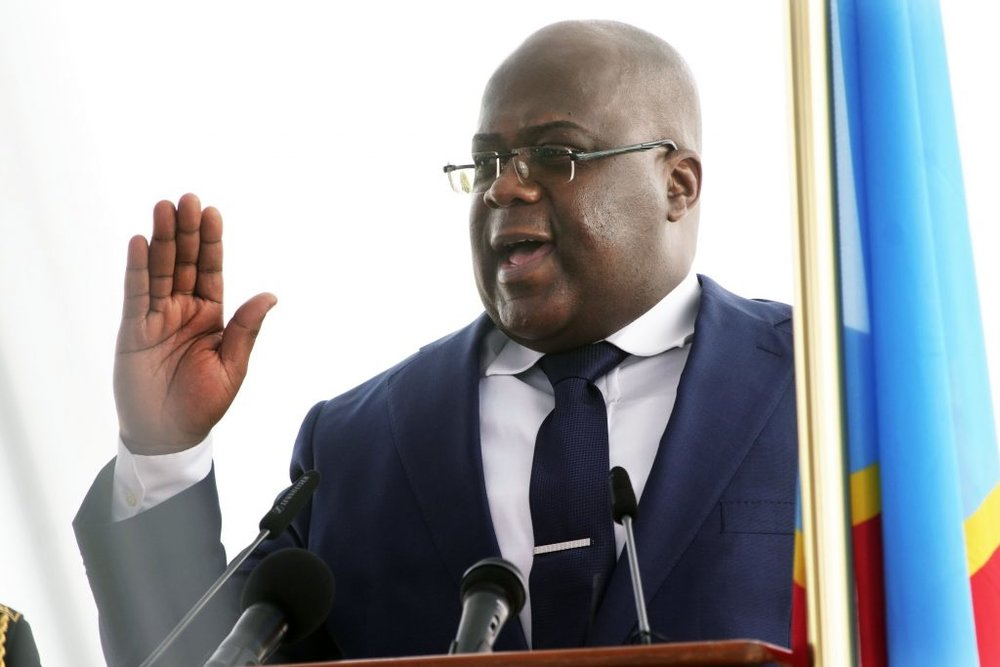 Former opposition leader Felix Tshisekedi was sworn in on January 24 as the fifth president of the DRC. It was the country's first peaceful transition of power since independence.