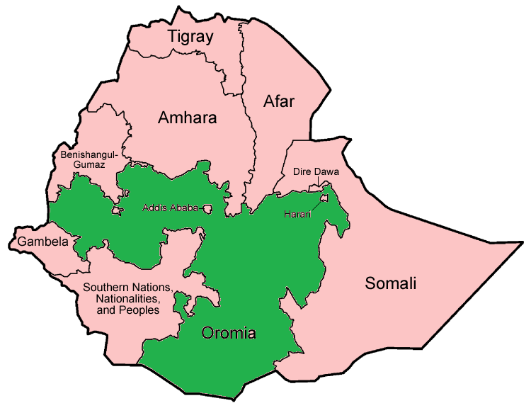 Development and Ethiopia's Oromia Region - A Conflict