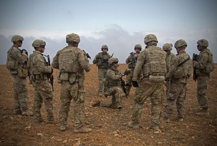 Before the announcement of withdrawal, the U.S. had 2000 troops stationed in Syria. (U.S. Army)