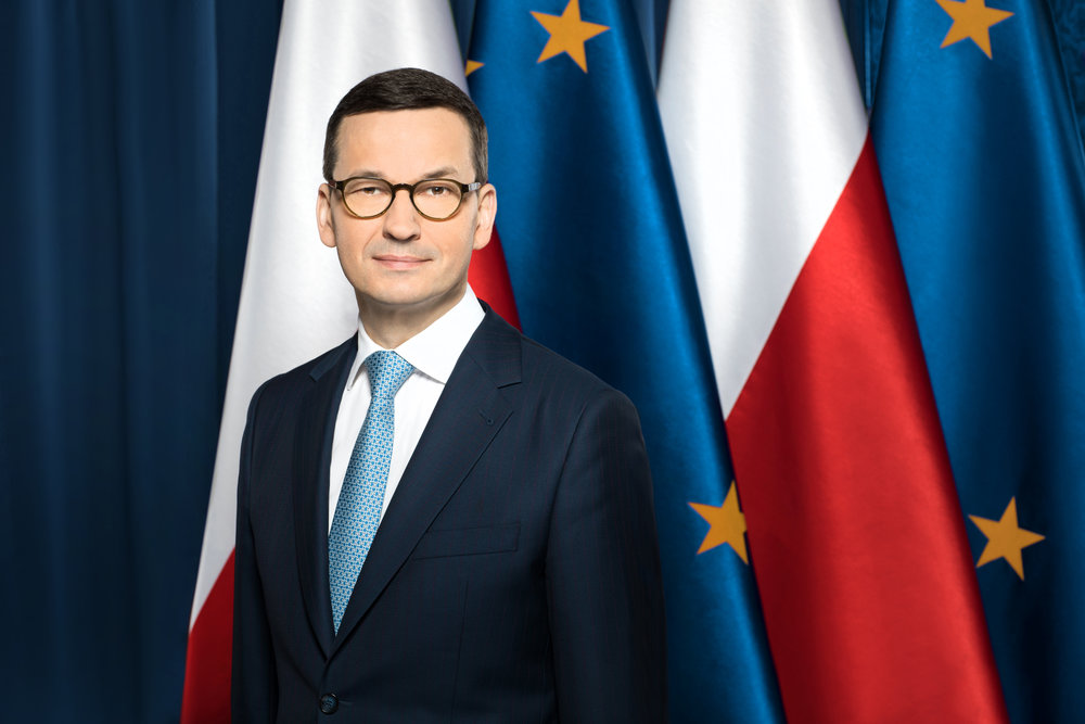 Polish Prime Minister Mateusz Morawiecki, a critic of the UN Migration pact, pictured in 2017 (Wikimedia Commons).