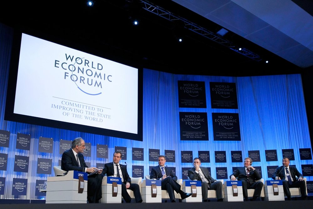 World leaders gather in Davos, Switzerland in late January to discuss the future of globalization and the trajectory of the world economy. (Official Website of the Russian Federation)