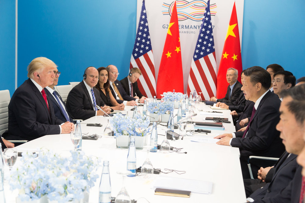 Since the election of Donald Trump in 2016, the tensions between the U.S. and China have continued increasing as the two powers vie for the role of leading technological advancement. (Wikimedia Commons)