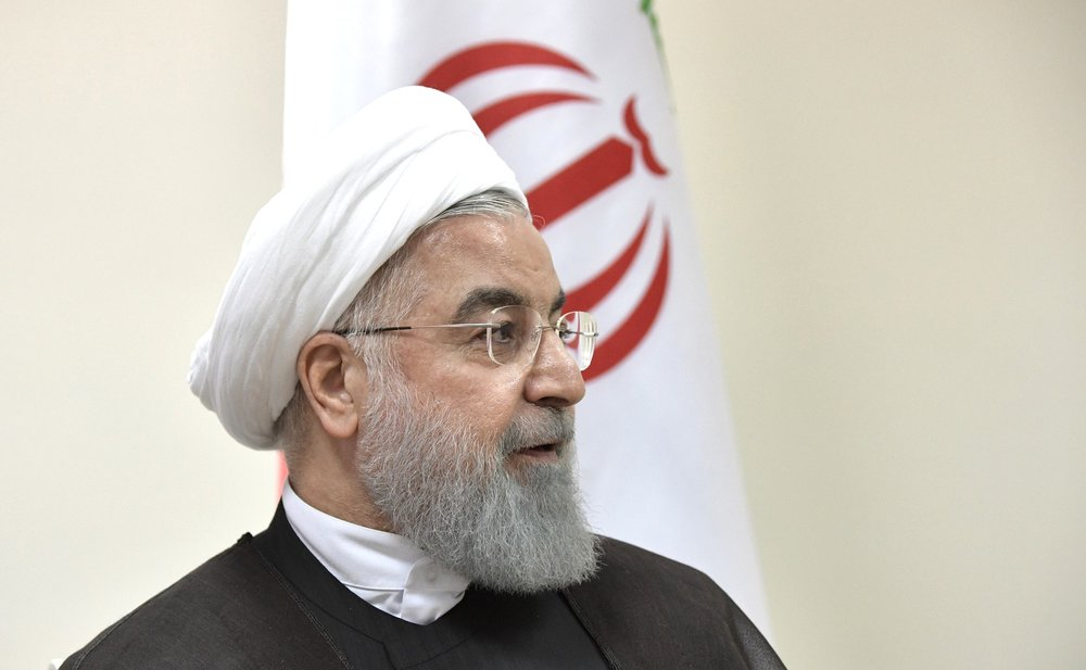 Rouhani's visit to Iraq is the first time the Iranian president has visited the country. (The Kremlin)