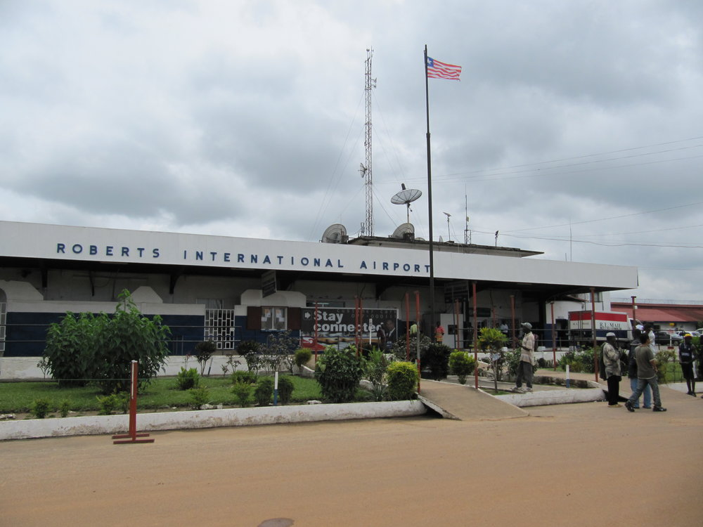 The Ministry of Justice received information about money at Monrovia's airport. (Wikimedia Commons)