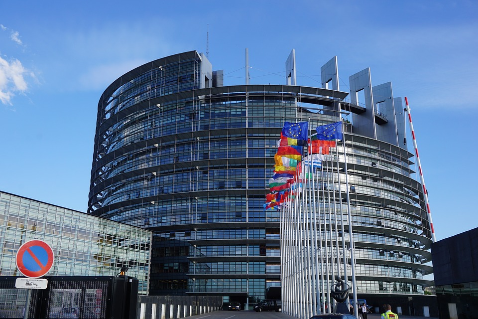 The European Parliament building in Strasbourg, France [Pixabay].