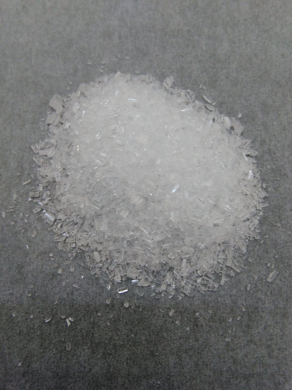 Lead acetate, one of the toxic compounds mixed by a German factory worker sentenced for poisoning his coworkers [Wikimedia Commons].