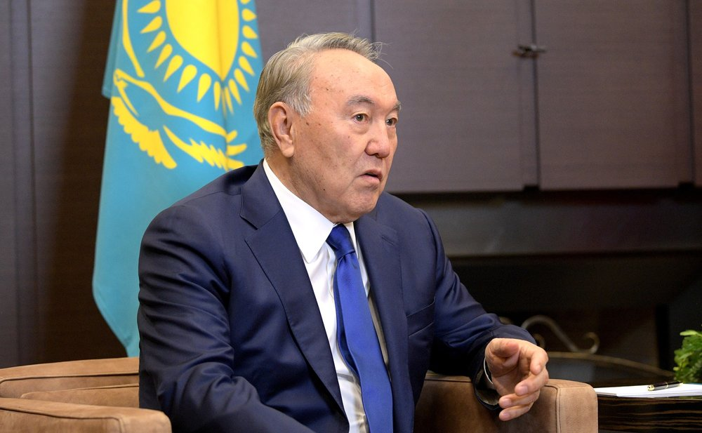 After serving for almost 30 years, Nursultan Nazarbayev resigns from his position as Kazakhstan's president. (Kremlin)