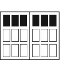 570DW - Square Top