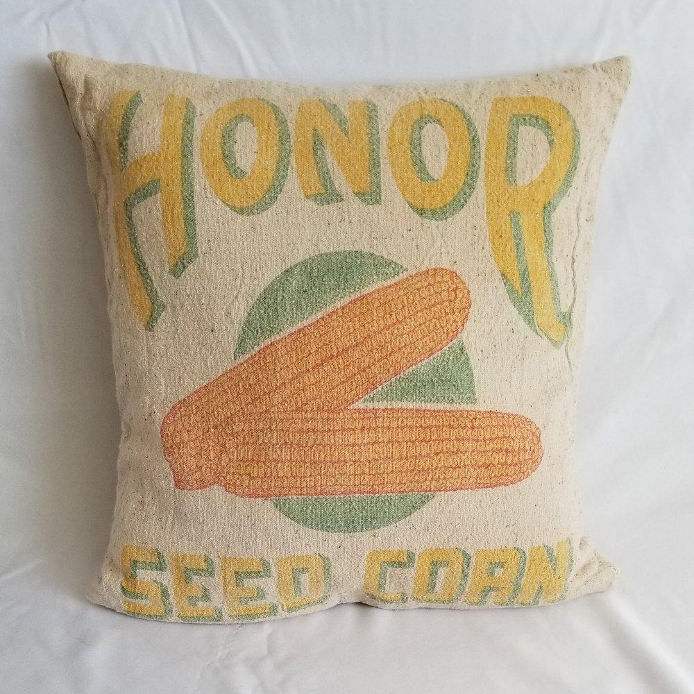 Grain Sack Pillow I